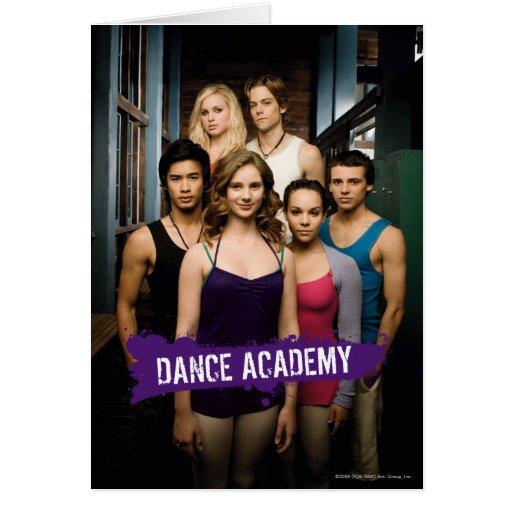 Dance Academy Class Card