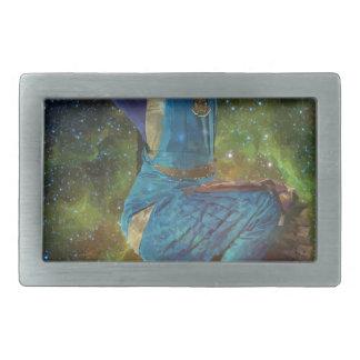 dance across the universe rectangular belt buckle