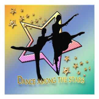 Dance Among Stars Invitation