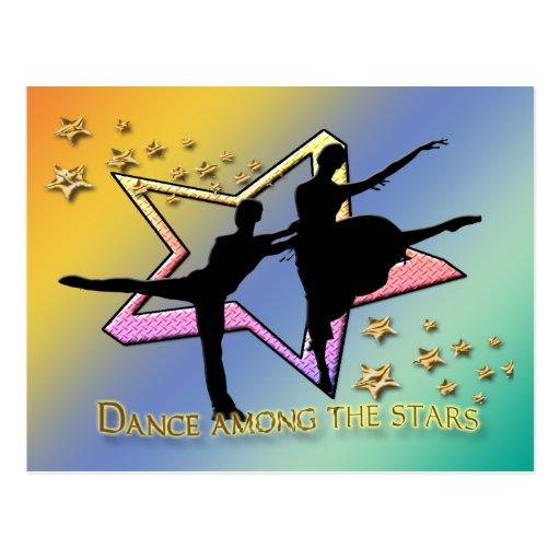 Dance Among Stars Post Cards