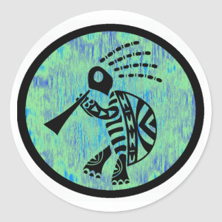 DANCE AND HARMONY CLASSIC ROUND STICKER
