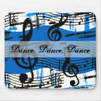 Dance And Music Notes Mousepad Mousepad