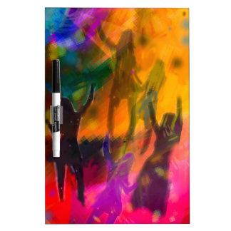 Dance and party Dry-Erase boards