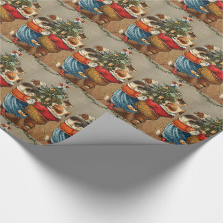 Dance Around the Christmas Tree Wrapping Paper