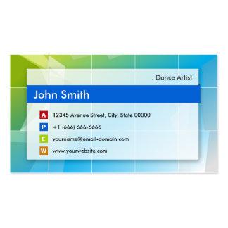 Dance Artist - Modern Multipurpose Business Card Templates
