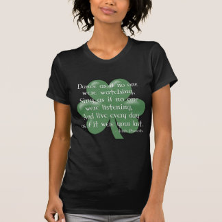 Dance as if :: Irish Proverb (White Design) T-Shirt