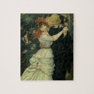 Dance at Bougival by Pierre Renoir, Vintage Art Jigsaw Puzzle