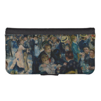 Dance at Le Moulin de la Galette by Renoir iPhone SE/5/5s Wallet Case