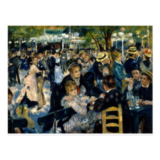 Dance at Le Moulin de la Galette by Renoir Postcard