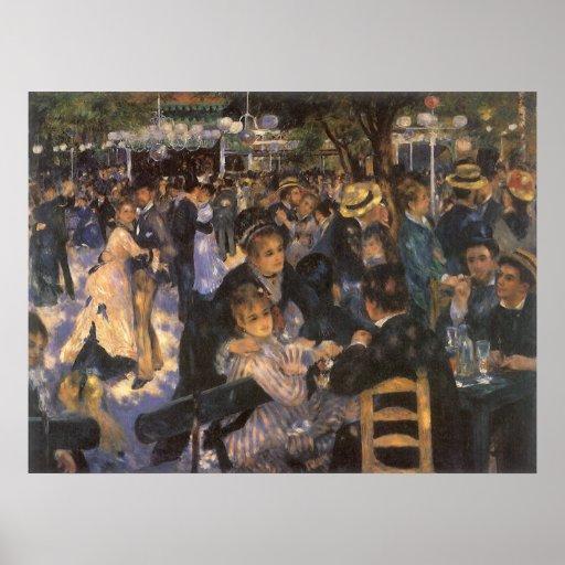 Dance at Le Moulin de la Galette by Renoir Poster