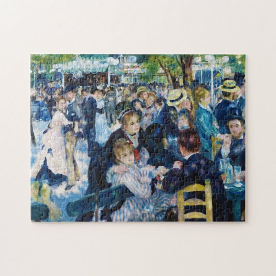 Dance at the Moulin de la Galette Auguste Renoir Jigsaw Puzzle