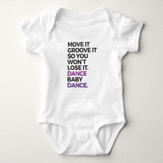 Dance Baby! Baby Bodysuit