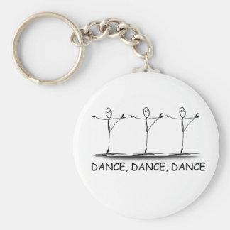 Dance Ballet Ballerina Funny Keychain