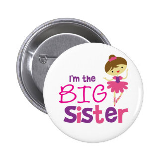 Dance Ballet Big Sister 6 Cm Round Badge