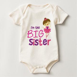 Dance Ballet Big Sister Baby Bodysuit