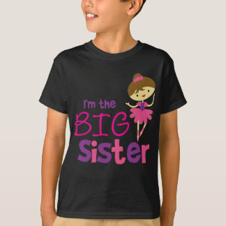 Dance Ballet Big Sister Tee Shirt