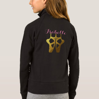 Dance Ballet Jacket with Name & Dancer Personalize