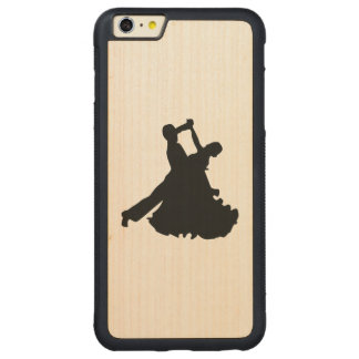 Dance Carved Maple iPhone 6 Plus Bumper Case