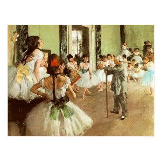 Dance Class Postcard 2