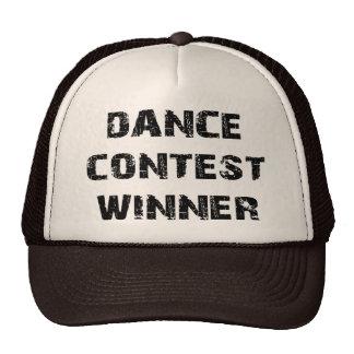 Dance Contest Winner Mesh Hat