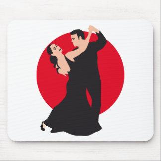 Dance couple mouse pad