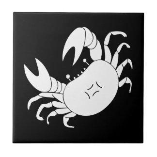 Dance crab ceramic tile