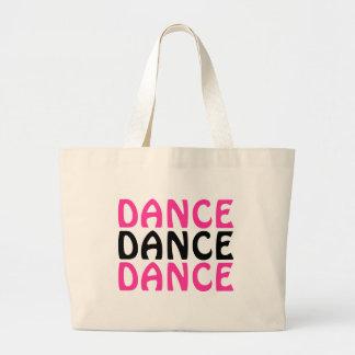 DANCE, DANCE, DANCE JUMBO TOTE BAG
