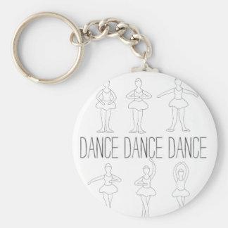 Dance Dance Dance Key Chains
