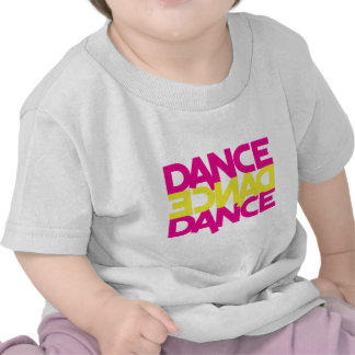 dance dance dance tee shirt