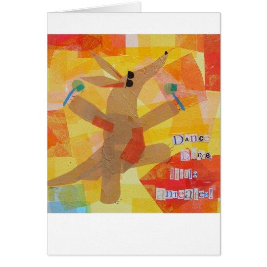 Dance Dance Little Anteater Card