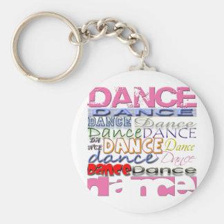 Dance Dancer s Products Keychain
