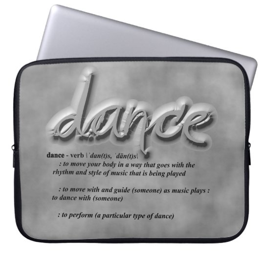 Dance Definition Laptop Sleeve