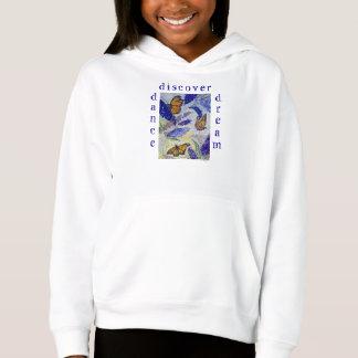 Dance Dream Butterfly Art Girl's Fleece Pullover