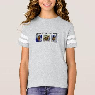 Dance Dream Butterfly Art Girl's Football Shirt