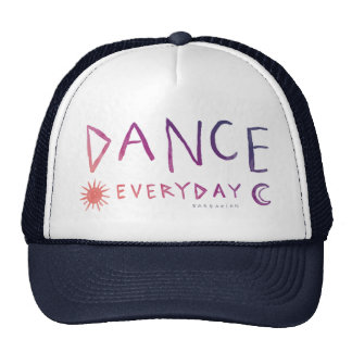 DANCE EVERYDAY Boho Quote *Sunset Ombre* Cap