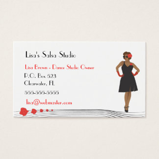 Dance/Fashion Business Card