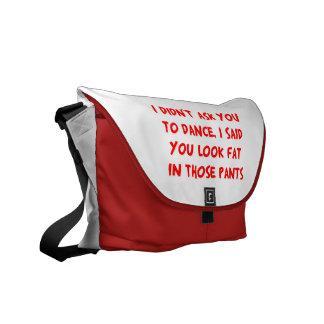 Dance Fat Pants Commuter Bag