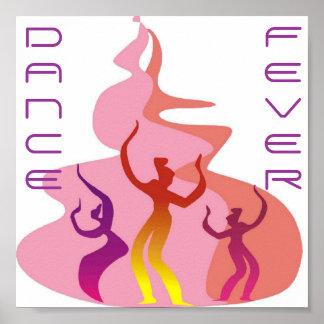 Dance Fever Portfolio 11x11 Poster