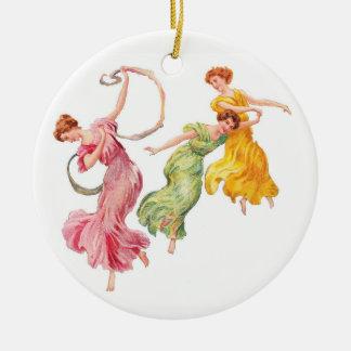 Dance for Joy Ceramic Ornament