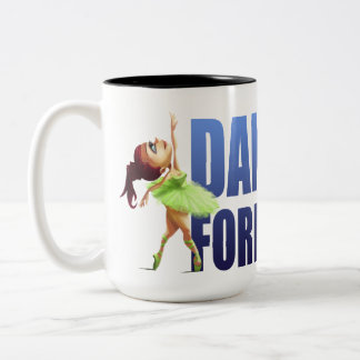 Dance Forever Ballet Two-Tone Coffee Mug