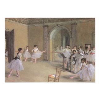 Dance Foyer at the Opera by Edgar Degas 13 Cm X 18 Cm Invitation Card
