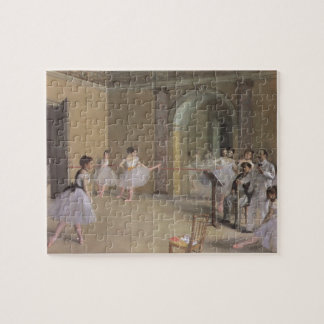 Dance Foyer at the Opera by Edgar Degas Jigsaw Puzzle