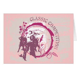 Dance Graphic  T-shirts and Gifts Greeting Cards