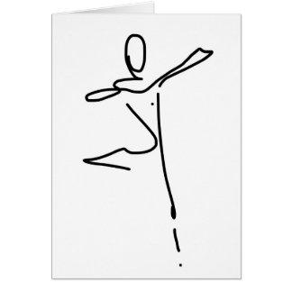 Dance Greeting / Birthday card