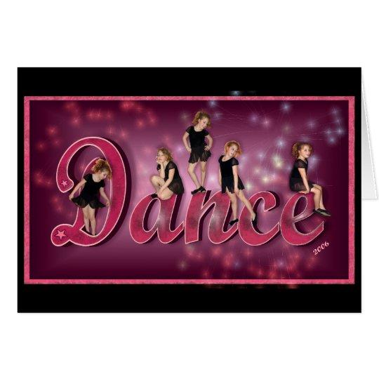 Dance - greeting card