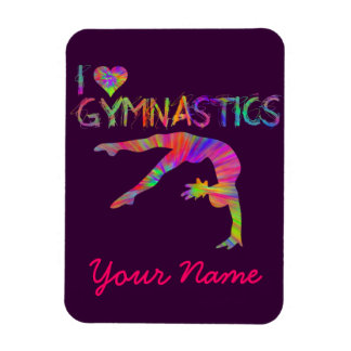 Dance Gymnastics Cheer Flexi Magnets