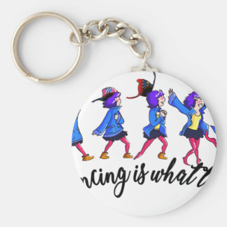 Dance hall is what to C Key Ring