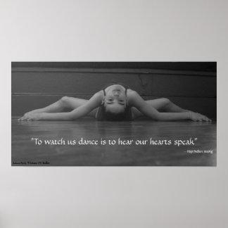 Dance Heart Speak Poster