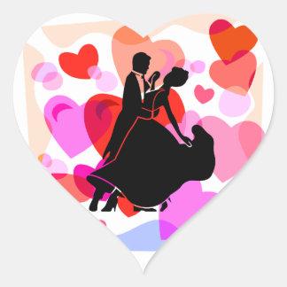 Dance Heart Sticker