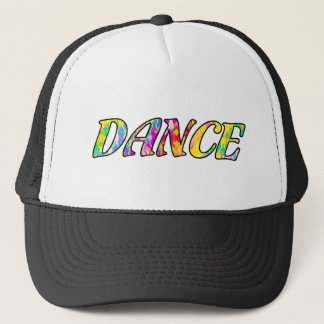 Dance in Bright Prismatic Rainbow Colors Trucker Hat